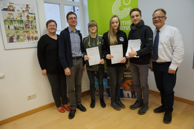 Our Students Have Passed A German Exam Of The Goethe Institute Vtpl